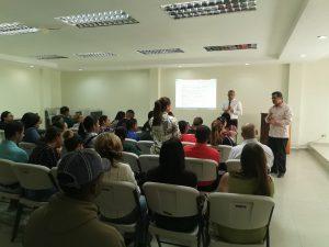 Servicio Regional de Salud Cibao Central socialización   de pruebas Papanicolau