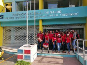 Servicio Regional de Salud Cibao Central le da la bienvenida a la navidad mediante un rico jengibre