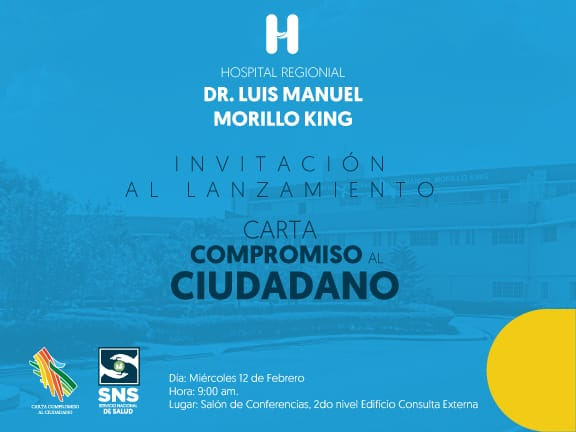 Hospital Regional Universitario Dr. Luis Manuel Morillo King presenta su carta Compromiso al Ciudadano.