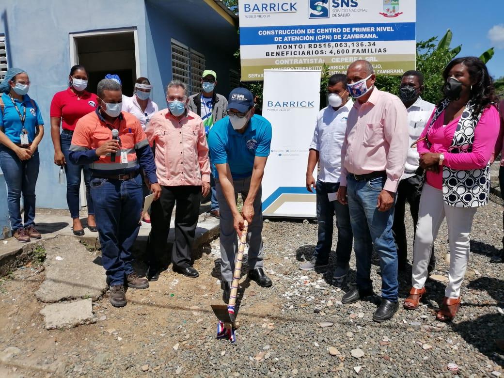 Con una inversión que supera los 15 millones de  pesos, dimos inicio   al primer Picazo para dejar iniciados los trabajos de construcción CPN del Distrito municipal de Zambrana.