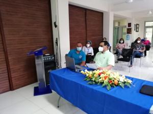 Reunión virtual con los directores de los CEAS de la Región Cibao Central.