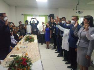 La Regional de Salud Cibao Central (SRS.C.C) realiza acto de juramentación de nuevos directores.