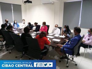El Servicio Regional de Salud Cibao Central sostiene reunión técnica con SENASA