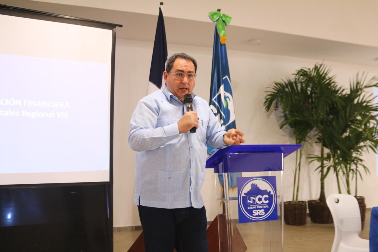 Dr. Lama sostiene encuentro con los directivos de los 18 Hospitales del SRSCC